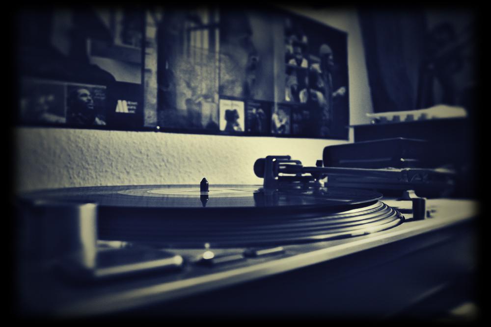 Schallplattenspieler und Marvin Gaye II