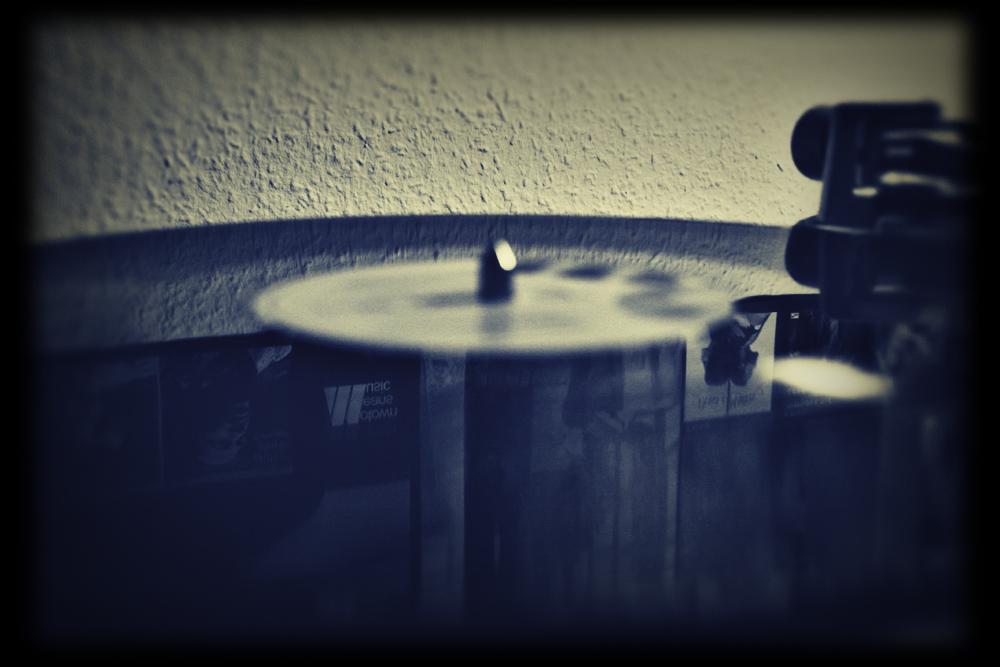 Schallplattenspieler und Marvin Gaye III
