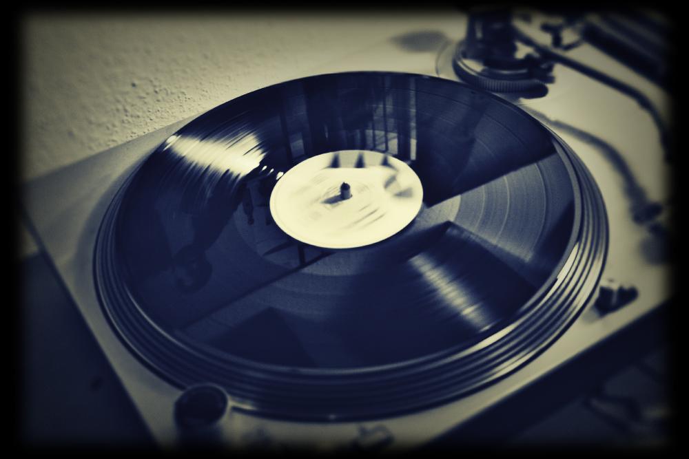 Schallplattenspieler und Marvin Gaye I